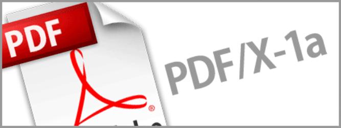 PDF/X-1a